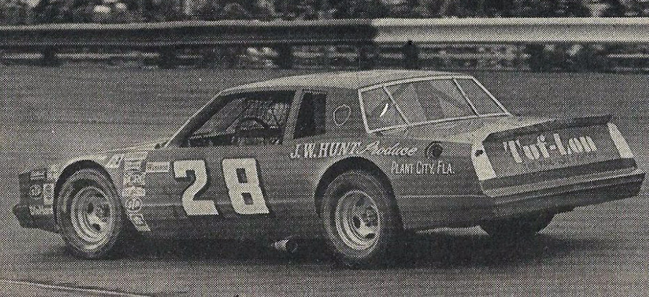 '81 #28 B.Allison 2a (Richmond 400 1981. Laughlin-B.Lindley car)
